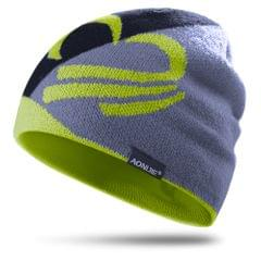 Knitted Sports Hat Windproof Running Beanie Hat Outdoor