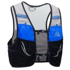 Outdoor Running Vest Mesh Breathable Hydration Rucksack Bag - S-M