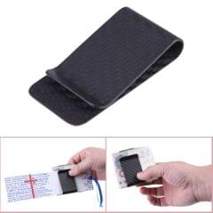 Real Carbon Fiber Money Clip Business Card Credit Card Cash - 2