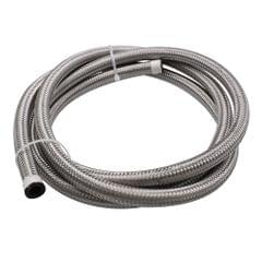2M Siliver AN6 Nylon And Stainless Steel Braided Fuel Line