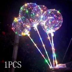 18inch Luminous LED BoBo Balloon Transparent Led Light - 1 Pcs(with Stick)