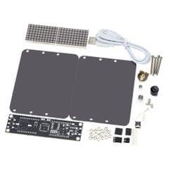 DS3231 Creative DIY Dot Matrix LED Clock Kit Desktop Precise