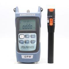 Fiber Optic Tool Kit Self Calibration Optical Power Meter