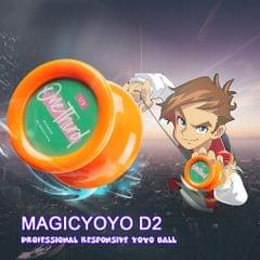 MAGICYOYO D2 Professional Responsive Yoyo Ball Butterfly