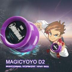 MAGICYOYO D2 Professional Responsive Yoyo Ball Butterfly