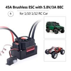 SURPASS HOBBY 45A Brushless ESC Waterproof Electric Speed