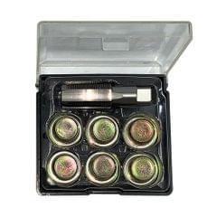 M13 x 1.25mm 7Pcs Oil Pan Thread Repair Set Automotive Oil - M13 x 1.25mm
