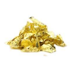 Gold Flakes Not Edible Food Decorating Foil Paper Cuisine - 1