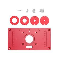 Multifunctional Router Table Aluminum Alloy Insert Plate