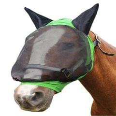 Horse Fly Mask Ear Cover Full Face Armour Mesh Pet Supplies