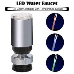 LED Water Faucet Light Water Stream Movable Water Faucet RGB