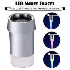LED Water Faucet Light Water Stream RGB Colors Changing - RGB Color LED( Temp.Detectable)