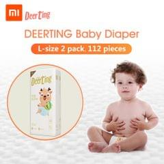 Xiaomi Youpin Baby Reusable Diaper Cotton Cloth Diapers Baby - L 2packs
