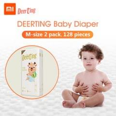 Xiaomi Youpin Baby Reusable Diaper Cotton Cloth Diapers Baby - M 2packs