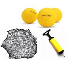 Mini Beach Volleyball Spike Balls Game Set Outdoor Team