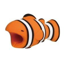 1 Pc Cute Cable Protector USB Data Line Protection Case Doll - Clownfish