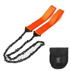 Survival Hand Chainsaw Pocket Chainsaw With Belt Bag Pouch