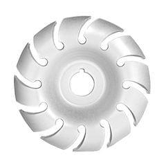 Manganese Steel 90mm 12 Teeth Wood Carving Disc 16mm Bore