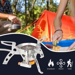 Outdoor Camping Stainless Steel G-as Stove Portable Picnic - 1pc