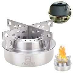 Portable Stove Wind-proof Stove Stainless Steel Stove - AT6388