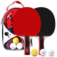 Table Tennis 2 Player Set 2 Table Tennis Bats Rackets and 3