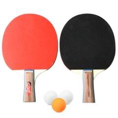 Table Tennis 2 Player Set 2 Table Tennis Bats Rackets with 3