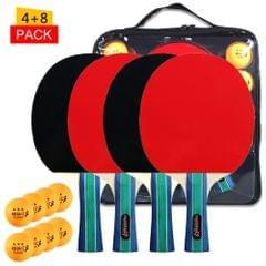 Table Tennis Ball and Bat Set  Quality Ping Pong Paddles