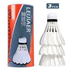 3pcs Badminton Durable Shuttlecocks Indoor Outdoor Sports