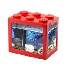 USB Mini Fish Tank Desktop LED Fish Tank Mini Aquarium Fish