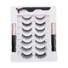 Magnetic Eyelashes with Eyeliner 7 Pair Magnetic Eyelashes