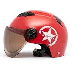 Motorcycle Helmet Half Open Face Adjustable Size Protection