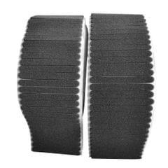100PCS Non-woven Fabric Nasal Sponge Black
