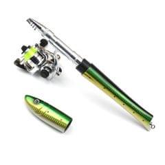 Portable Pen Fishing Rod Mini Pocket Fishing Rod with - Carbon Fiber 1.4m