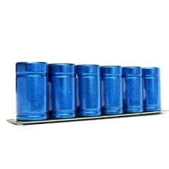 Farad Capacitor 2.7V 500F 6 Pcs/1 Set Super Capacity with