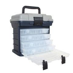 Fishing Tackle Toolbox Multi-function 4-layer Road Sub-box