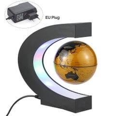 """3"""" Magne-tic Levitation Floating Globe with C-Shaped Based - EU Plug"""