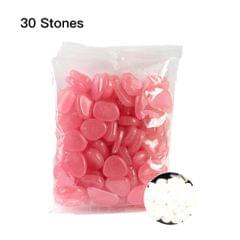 30pcs/Bag Luminous Pebbles Stones Home Fish Tank Outdoor - 3