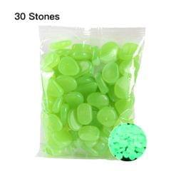30pcs/Bag Luminous Pebbles Stones Home Fish Tank Outdoor - 8