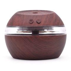 300ml Ultrasound Aroma Diffuser Creative Wood Mini Mute USB