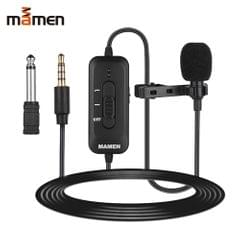 MAMEN KM-D2 Omni-directional Clip-on Lavalier Microphone