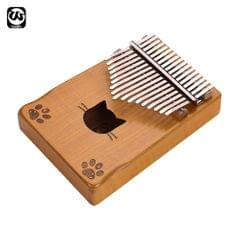 Walter.t WK-171YE Portable 17-key Kalimba Thumb Piano Mbira