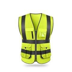 SFVest  High Visibility Reflective Safety Vest Reflective - M