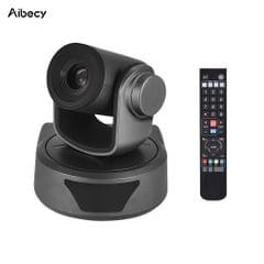 Aibecy Video Conference Camera Webcam 10X Optional Zoom Full - US Plug