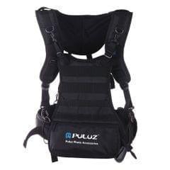 PULUZ Multi-functional Double Shoulder Camera Strap Camera