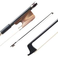 15/16 Inch Viola Bow Well Balanced Carbon Fiber Round Stick - 15 & 16 inch Viola Bow