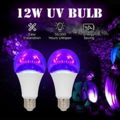 2PCS 12W LED UV Bulb Violet Bulb UV Black Light Bulb UVA - 12W
