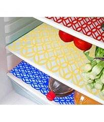 Prime  Set of 6 PVC Fridge Mats (Color As Per Availability)