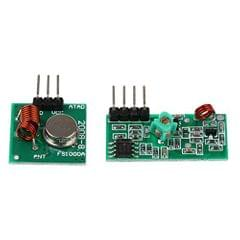 Prime  E_14012408 Imported 433Mhz Wireless Transmitter and Receiver Module Kit for Arduino Diy, 2 Pieces