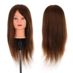 24�� Mannequin Head with Clamp Holder for Braiding Hair