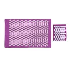 Acupressure Mat with Pillow Back Pain Relief and Neck Pain